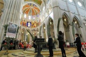 vista panorámica de la beatificacion